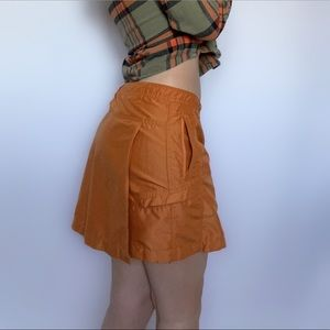 Orange Sporty Skirt / Skort